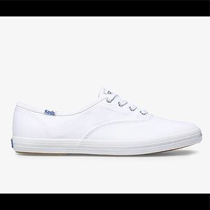 NWT Keds White Canvas Champion Sneakers
